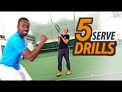 Download Youtube: 5 SIMPLE Serve Drills to improve Consistency, Accuracy & Power