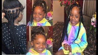 How to : Kids Box Braids| Natural Hair| Kid Braid styles