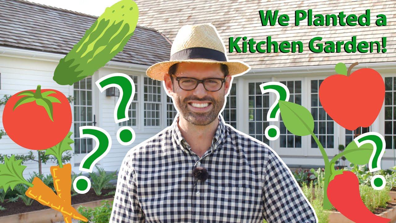 My Dream Kitchen Garden Reveal!