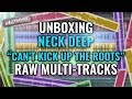 Neck Deep Quot Can 39 T Kick Up The Roots Quot Raw Multi Tracks UNBOXING mp3