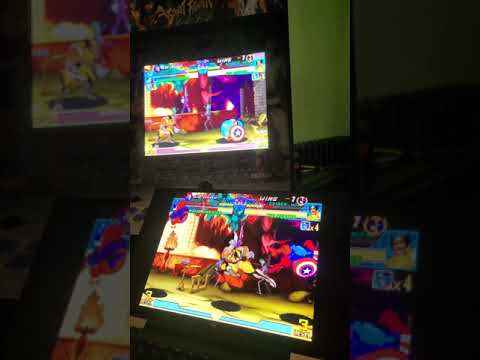 Arcade1Up: Streaming PCB's Video Output (first sign of success) from The Code Always Wins