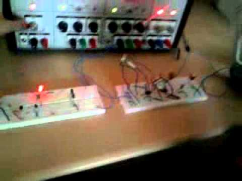 ir based music transmitter and receiver output