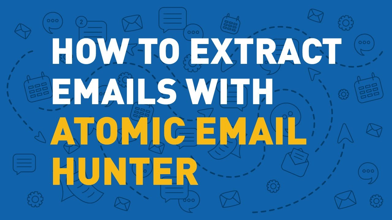How Atomic Email Hunter extracts emails