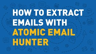 How Atomic Email Hunter extracts emails.