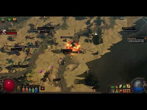 Canyon Map POE ABYSS 3.1
