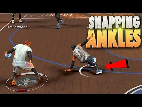 Playmaker SNAPPING ANKLES & 98 Overall Glitchers? - NBA 2K17 MyPark