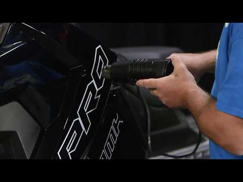 ArcticFX Graphics | Removing Factory OEM Graphics From Your Sled
