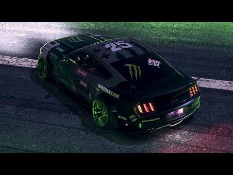 Monster Energy RTR #25 / NFS Payback Speed Art / - 4k
