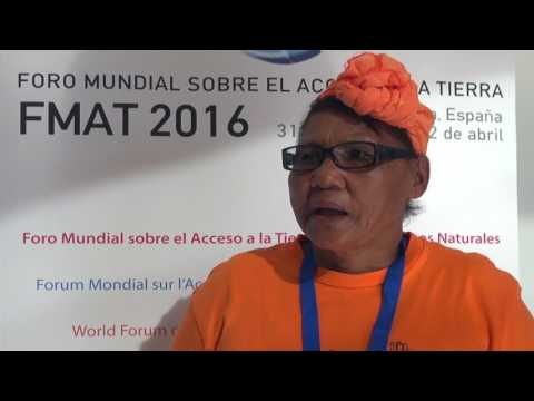 Bettie Fortuin, Women on Farms Project, South Africa - WFAL 2016, Valencia
