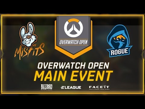 MISFITS vs ROGUE - UB - GROUP B (Overwatch Open Europe Group Stage)