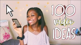 100 video ideas for any youtuber popular video ideas