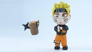 Naruto uses Kage Bunshin No Jutsu - Play Doh Stop Motion