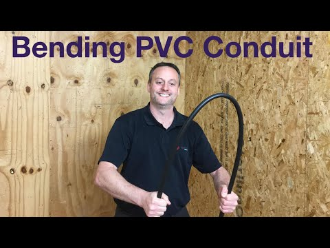 How to Bend and Cut 20 mm PVC Conduit (90 Degrees Bend Using a Bending Spring)