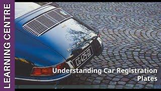 Understanding Car Registration Plates | OSV Learning Centre