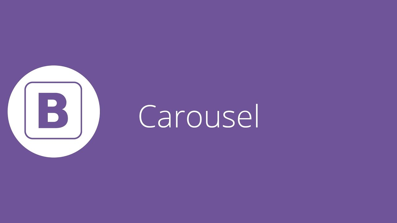 bootstrap tutorial 21 carousel slideshow youtube