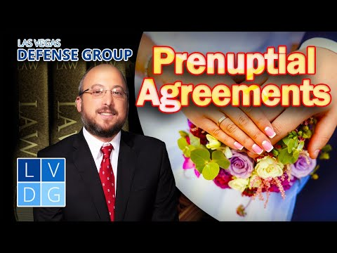 "How to get a ""prenuptial agreement"" in Las Vegas – Family Law Attorney"