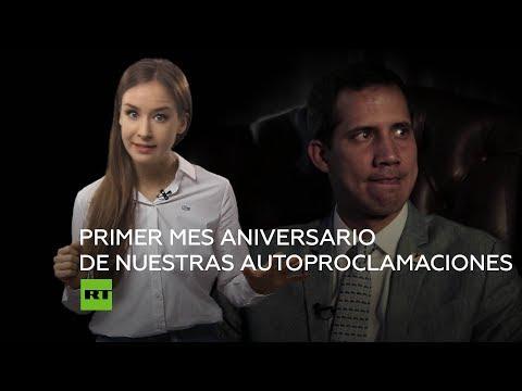Juan Guaidó cumple un mes como presidente autoproclamado de Venezuela