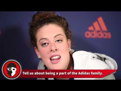 Allison Schmitt speaks on Adizero XVI