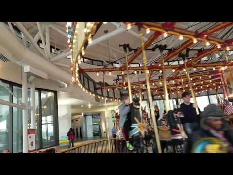 Antique Carousel in New York State Museum