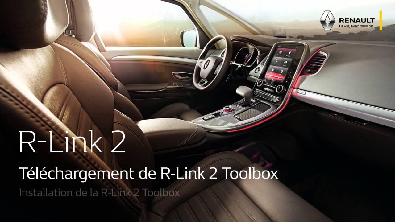 Téléchargement de R-Link 2 ToolBox