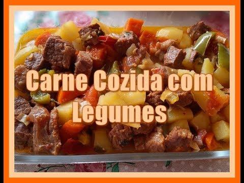 Deliciosa Carne Cozida Com Legumes