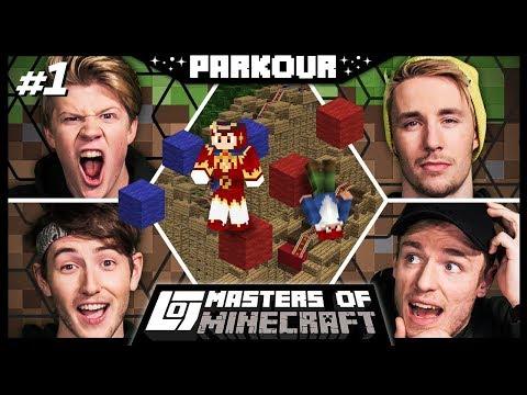 1V1 PARKOUR IN EFTELING met Jeremy, Harm, Link en Joost | Parkour | MOM #1