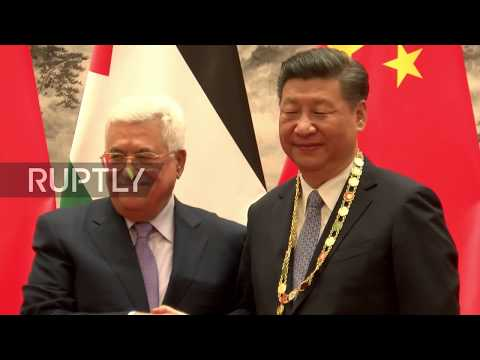 China: Xi Jinping pledges Beijing's support for Palestinian independence