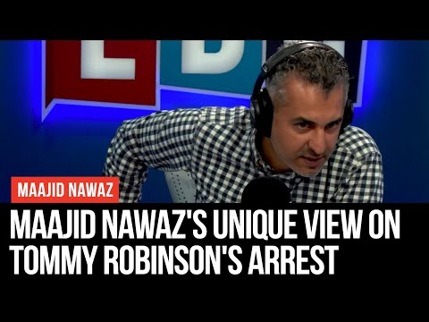 Maajid Nawaz's Unique View On Tommy Robinson's Arrest