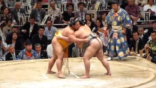 2012年6月1日(土)、垣添引退雷襲名披露大相撲に行ってきました! 幕内取...
