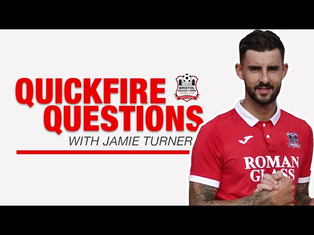 QUICKFIRE QUESTIONS: Jamie 'JT' Turner