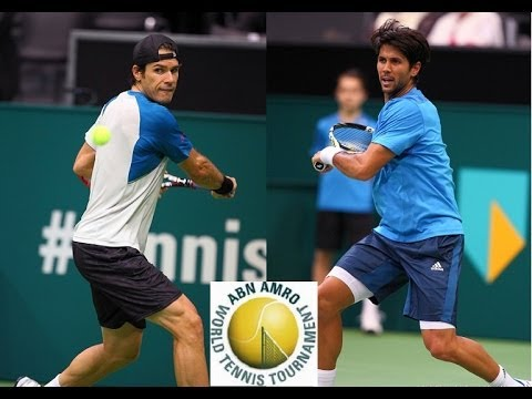 Tommy Haas vs Fernando Verdasco Rotterdam 2014 Highlights