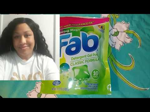 Fab Laundry Pods Review (Dollar Tree Find)