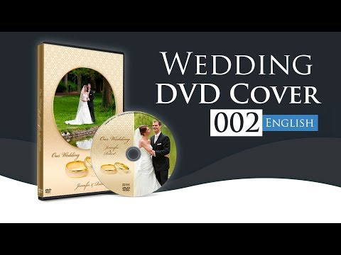 How To Make A Dvd Cover In Photoshop Using Wedding Dvd Cover 002 Youtube