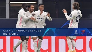 UEFA Champions League | Inter Milan v Real Madrid | Highlights