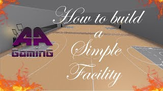 {NEW} How to make a Simple Basketball Facility - Roblox Tutorial