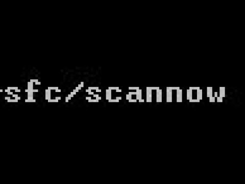 Auto Repair Your System Files With Sfc /scannow Command