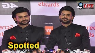 Vishal Aditya Singh Looks Dashing at Star screen award 2018… | Star Screen Award 2018