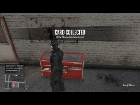 Grand Theft Auto 5 Hidden Playing Card Location 22