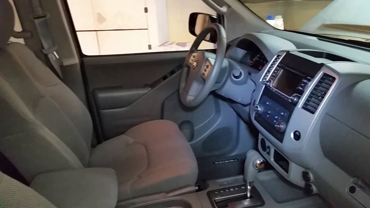 2016 nissan frontier pickup truck quick interior tour driver 2016 nissan frontier pickup truck quick interior tour driver seat steering wheel radio plugs vanachro Choice Image
