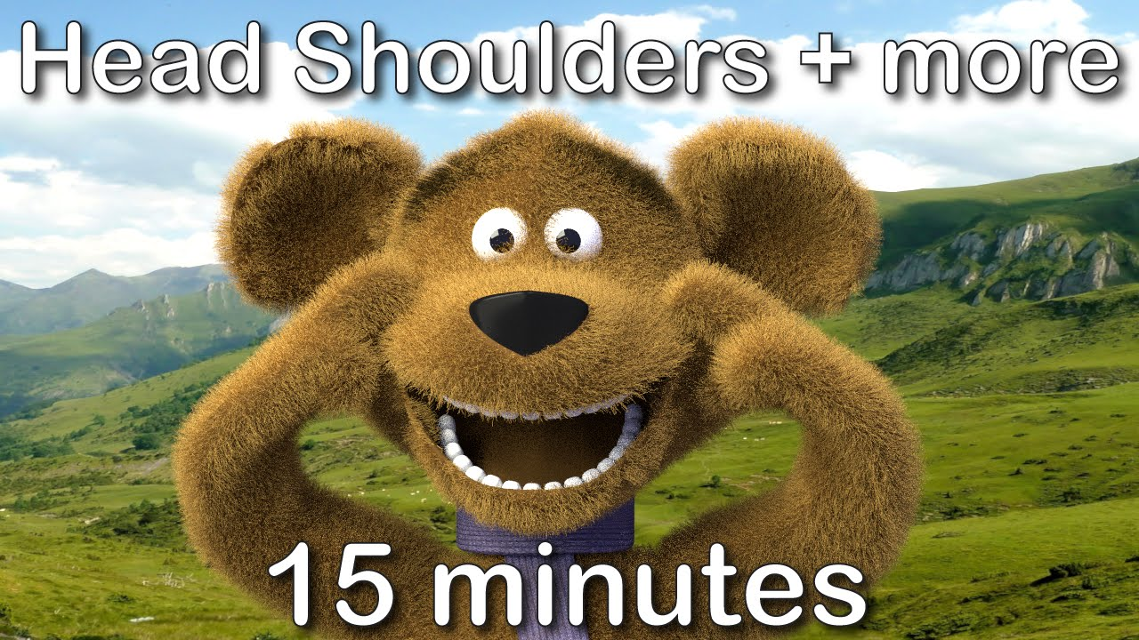 Download Head Shoulders Knees and Toes | 15 minutes compilation from tinyschool!