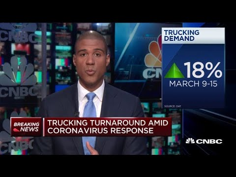 Trucking Demand Increased 18% Last Week Due To Coronavirus Demand