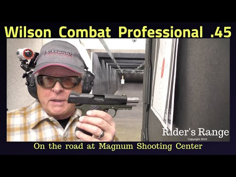 Wilson Professional .45 - On The Road At Magnum Shooting Center