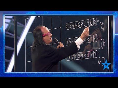 "Paz: ""Este hombre tiene que ir a la NASA"" | Semifinal 3 | Got Talent España 2019"
