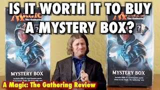 mtg is it worth it to buy a mystery box for magic the gathering?