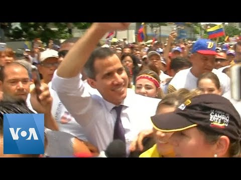 Venezuela Opposition Leader Juan Guaido Calls to Rally on Independence Day