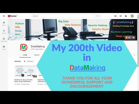 """200th Video In My YouTube Channel """"DataMaking""""   Data Making   DM   DataMaking"""