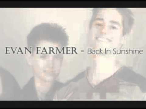 Evan Farmer  Back In Sunshine Dedicated to Michael Cuccione