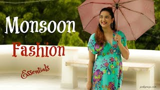 Monsoon Fashion Tips & Essentials + Giveaway winner | Perkymegs