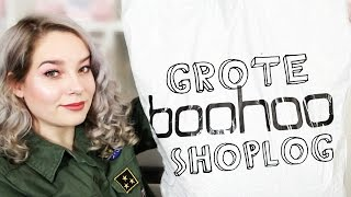 GROTE BOOHOO SHOPLOG !! (+TRY ON)