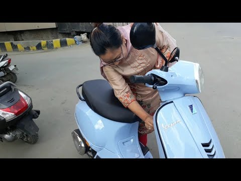 She Bought A Brand New Vespa In 30 Minutes!!!